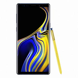 Samsung Galaxy Blue Note9 With S Pen