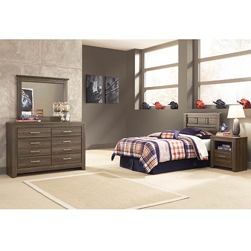 Signature Design by Ashley Juararo 4-Piece Twin Bedroom Set- Room View