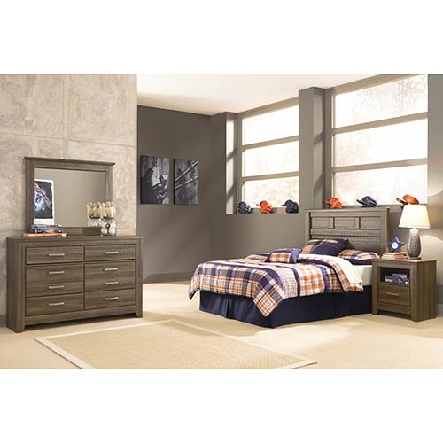 Signature Design by Ashley Juararo 4-Piece Full Bedroom Set- Room View