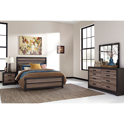Rent Ashley Harlinton 6-Piece Queen Bedroom Set