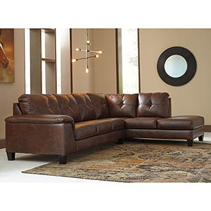 Signature Design by Ashley Goldstone-Autumn 2-Piece Sectional- Room View