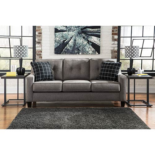 Benchcraft Brindon-Charcoal Sofa Sleeper- Room View