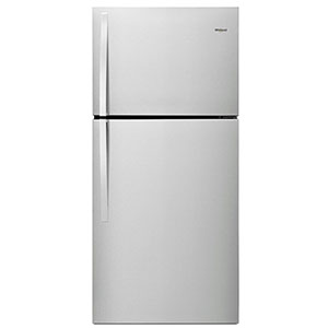 Whirlpool Stainless 19 Cu. Ft. Top-Freezer Refrigerator