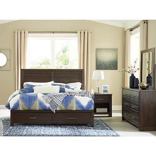 Signature Design by Ashley Darbry 6-Piece King Bedroom Set ...
