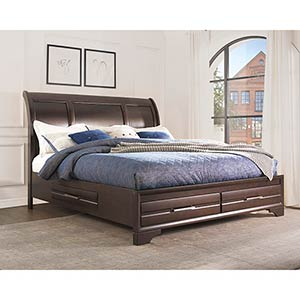Signature Design by Ashley Andriel Queen Storage Bed- Room View