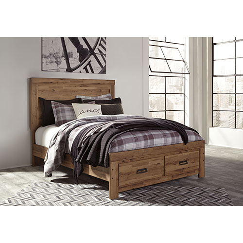 Signature Design by Ashley Cinrey Platform Queen Bed- Room View