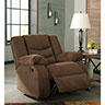Signature Design by Ashley Tulen-Chocolate Rocker Recliner- Alternate Room View