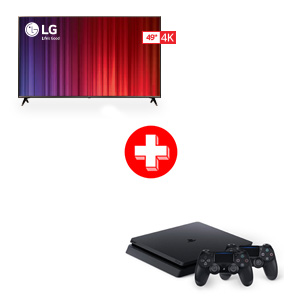 LG 49 inch Smart TV and Sony PlayStation Gaming System Bundle