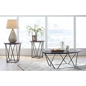 Signature Design by Ashley Neimhurst Coffee Table Set- Room View