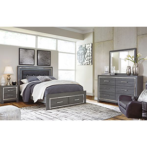 Signature Design by Ashley Lodanna 6-Piece Queen Bedroom Set- Room View
