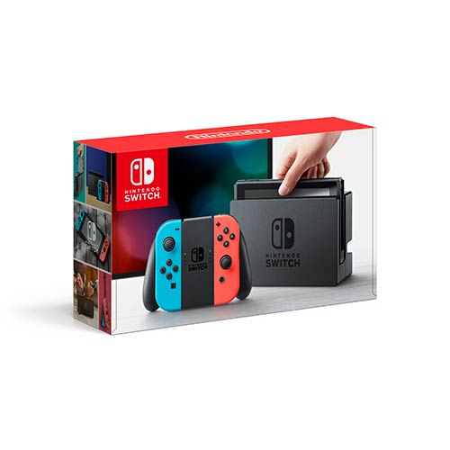 Nintendo Switch with Neon Joy-Con - Sonic Team Racing Bundle