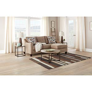 Signature Design by Ashley Seabrook-Natural 6-Piece Living Room Bundle- Room View
