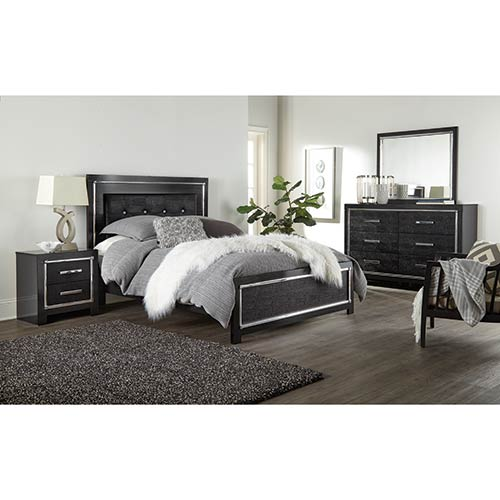 Signature Design By Ashley Kaydell 6 Piece Queen Bedroom Set