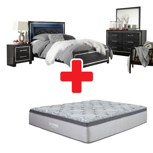 Signature Design By Ashley Kaydell 6 Piece King Bedroom Set